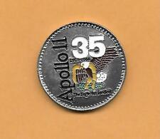 "APOLLO 11 35th ANNIVERSARY THE EAGLE HAS LANDED CHALLENGE COIN  1 1/2"" .8 OZ"
