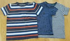 Mini Boden Ben Sherman 3-4 years boy short-sleeved tops t-shirt stripe bugs blue