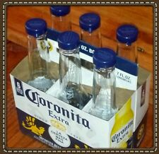 "Corona Salt & Pepper glass 8"" Shakers, Kitchen Bar Restaurant ""Brand New"""