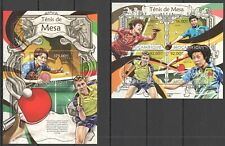 ST2583 2013 MOZAMBIQUE SPORT TABLE TENNIS PING PONG KB+BL MNH