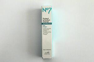 No7 Protect & Perfect Intense Advanced EYE Cream - Hypo-Allergenic - 15ml