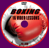 BOXING COACHING WORKOUTS OVER 4 HOURS EXTENSIVE TRAINING DRILLS PC VIDEO DVD NEW
