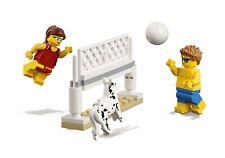 LEGO CITY  MINIFIGURA  `` BEACHGOER VOLLEYBALL + DOG ´´  Ref 60153  NUEVO