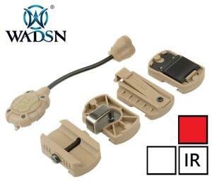 WADSN Helmet Flashlight Modular Personal Lighting System Tec MPLS3 - TAN (RED)