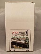 BTS Structures - Ballasted-Deck Trestle - Kit #27103 - NIB - Sealed