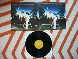 Elton John Greatest Hits Volume II Vinyl 1980 Portuguese DJM Records LP Gatefold