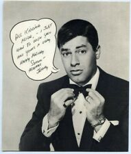 Jerry Lewis Vintage Original Custom Christmas Card 5x6 1956 with envelope