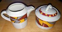 Vintage Studio Nova set Creamer & Sugar Bowl Previa Pattern HG255 Excellent Cond