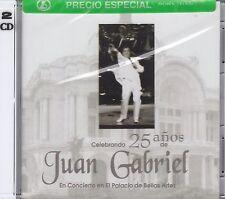 Juan Gabriel Celebrando 25 Anos 2CD New Nuevo Sealed