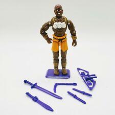 RARE 1993 Dhalsim 100% Complete Vintage Hasbro GI Joe Figure Street Fighter