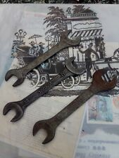 Three Yamaha Open End Spanners  13 -14 -17 Mm. Vintage 1970s.