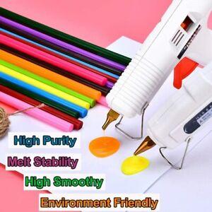 Bunt Klebesticks 7 x 100mm/11 x 200mm Heißkleber Heißklebestifte Sticks DIY DE