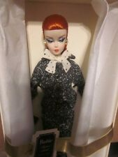 SILKSTONE  FASHION MODEL BLACK & WHITE TWEED SUIT RED HAIRED BARBIE NRFB!!!!!!