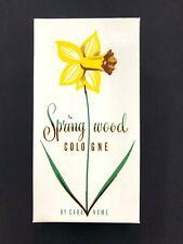 Vintage NEW Cara Nome Springwood Cologne 4 oz Langlois NOS Womens Perfume 1954