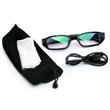 1080P HD USB 2.0 Video Camera Glasses Recorder DVR Hot Eyewear Camcorder w/Cable