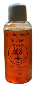 Sanding Sealer - 250ml -Parr's natural - Shellac & Water Based - contains no voc
