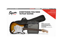 Fender Stratocaster Pack SSS Brown Sunburst + Frontman 10G + Funda + Accesorios