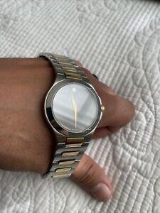 Men's Movado Musuem Two-Tone Watch