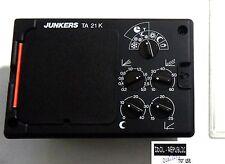 Junkers - TA 21 K - Heizungsregler ohne Schaltuhr - TA21 K - Regler - Steuerung