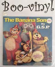 "G.S.P.-The Banana Song 7"" 45-Yo!Yo! Records, YOYO1, 1992, Pic Sleeve NR Mint"
