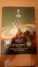 Qabala Azerbaijan - AS Saint - Etienne Loire France UEFA Europa League 03.11.16