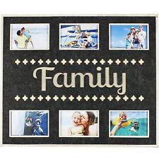 Énorme feutre six cadre photo collage famille sentiment souvenirs cadeau nouveau