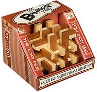 NEW Bamboozler Bamboozlers Wooden 3D Bamboo Puzzle Ball Puzzleball  LOG PILE 2