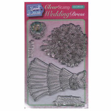 New listing Sweet Dixie A6 Clear Stamp Set - Sdcsa6124 Wedding Dress