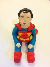 Edible Superman Marvel Icing Cake Topper