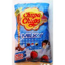 Chupa Chups Milky Lollies - 120's