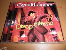 CYNDI LAUPER rare DISCO INFERNO 6 track SINGLE cd ep Boris & Beck