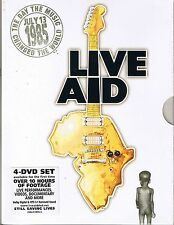 Live Aid 1985 Various Artists (4 DVDs)