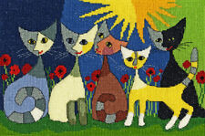 Bothy Threads ~ Counted Cross Stitch Kit ~ Five Cats ~ Rosina ~ XRW6