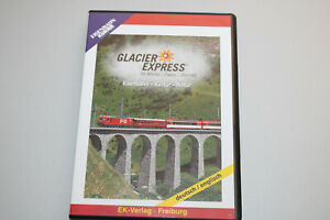 EK-Verlag 8038 DVD Glacier-Express St.Moritz/Davos-Zermatt OVP