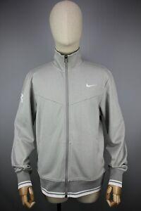 Roger Federer Nike Australian French Open 2011 RF Trophy Gray Jacket Size M