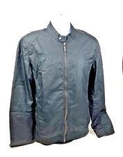 Chevignon Jacket Mens Size M Black Zip Up Motorcycle Type Bomber Zip Sleeves