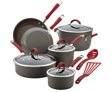 New ListingRachael Ray Cucina Hard Anodized Nonstick Cookware Pots and Pans Set, 12 Piece