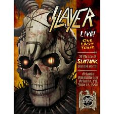 Slayer Poster Orlando Amp. A/P Xx/25 Limited Edition June 15 2018 S/N