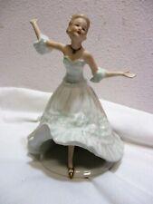 Vtg Wallendorf Porcelain Figurine Dancer Lady Dancing Germany 1764