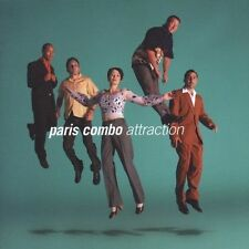 Attraction by Paris Combo CD (June 2005) NEW IN PACKAGE (NIP)