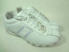 Skechers White Leather Sneakers Womens 9.5