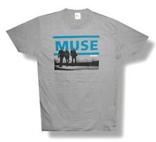 "MUSE - ""RESISTANCE"" TOUR 2010 INDIO GREY T-SHIRT - NEW ADULT LARGE L"