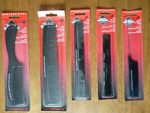 HAIRDRESSERS BLACK DIAMOND DUPONT COMBS TOOLS - VARIOUS STYLES - BRAND NEW