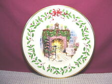 Lenox China Holiday Annual Christmas Plate 1999 First Quality