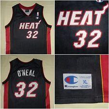 Miami Heat NBA / O'NEAL #32 - CHAMPION - vtg JUNIOR basketball Tank Top. 13-14 y