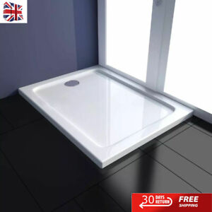 ABS Shower Base Tray Bathroom Drain Enclosure Square/Rectangular Multi Sizes New