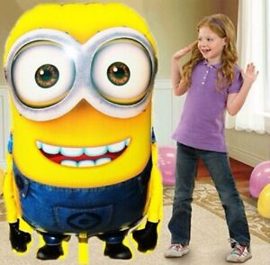 Large Size Minions Foil Balloon Despicable Me Balloons Birthday 92*65cm apr