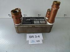 Fema B5x20 Échangeurs Thermiques à Plaques Acier Inox L / B/H mm Env.