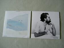 J. BERNARDT job lot of 2 promo CDs Running Days Calm Down