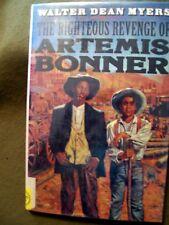 2 Walter Dean Myers Books ~ The Righteous Revenge of Artemis Bonner & Scorpions